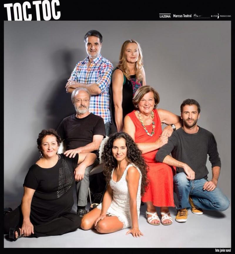 La actriz Laura Hernando se sube de nuevo a las tablas del Teatro Gran Vía de Madrid en la 7ª temporada de Toc Toc